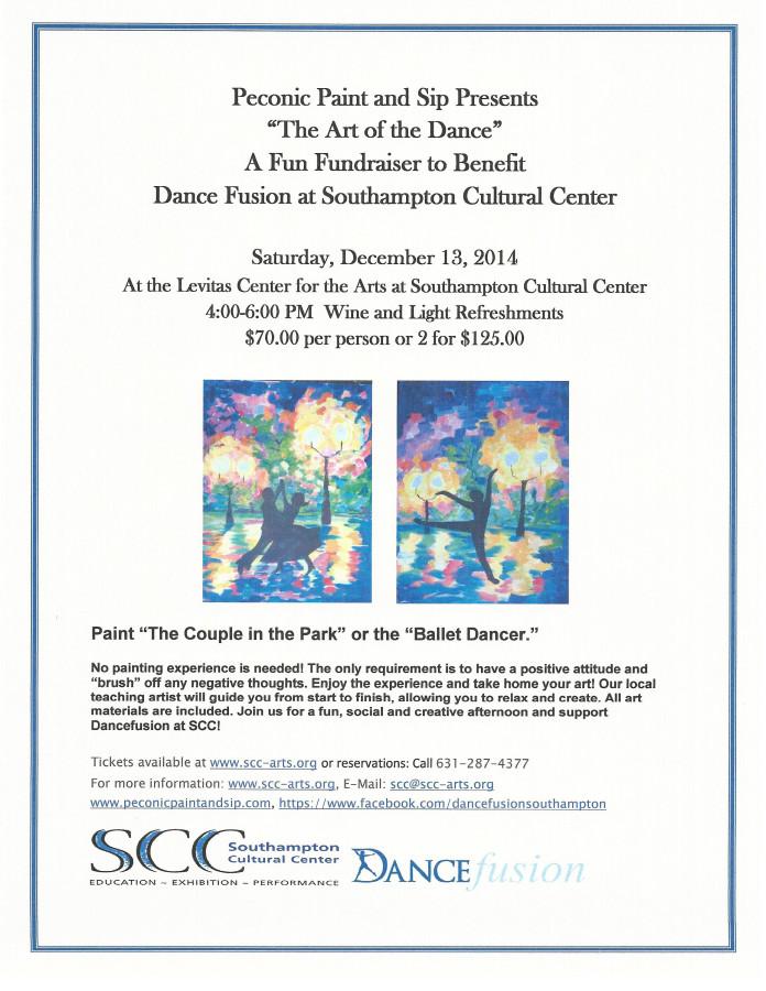 DanceFusion@SCC-Paint & Sip Fundraiser